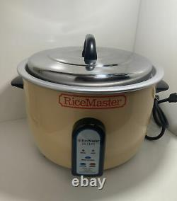 25 Cup Commercial Electric Rice Cooker By Town Ricemaster Model 56822 120v