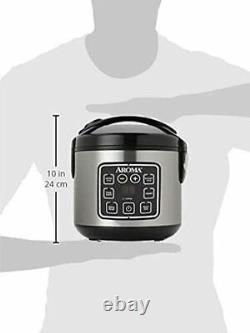 2-8 Cup (Cooked) Rice Cooker Food Steamer, 6 Unique Functions, Toxic-free Pot