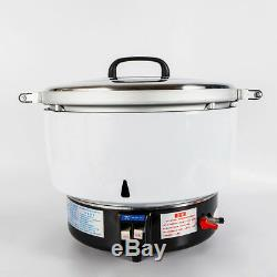50 Cups COMMERCIAL RICE COOKER 50 CUP NATURAL GAS 2.8KPA MAX FOR 50-60 PEOPLE US