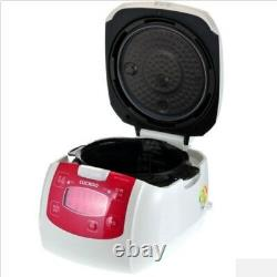 6 Cup New CUCKOO Pressure Rice Cooker CRP-FA0621MR Xwall Black Coated Inner Pot