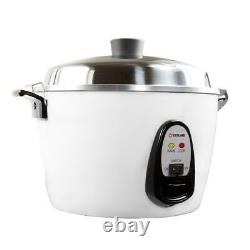 6-cup multi-cooker tatung white rice electric stainless steel new quart inner