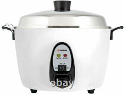 6 cups indirect heating stailess inner and aluminum cook pot rice cooker New