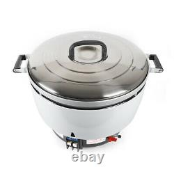 75 Cup 15L Commercial Rice Cooker Big Large Business Restaurant Countertop New