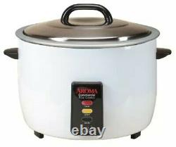 Aroma 60-Cup Cooked/ 30-Cup UNCOOKED Commercial Rice Cooker (PLS SEE Details)