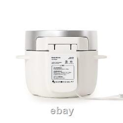 BALMUDA 3Go (450 g) electric cooker The Gohan K03A-WH White