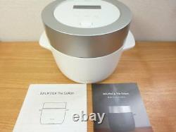 BALMUDA 3Go (450 g) electric cooker The Gohan K03A-WH White from Japan