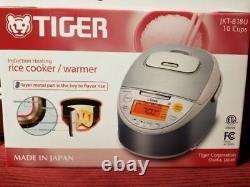 BRAND NEW, Tiger Rice Cooker/Warmer JKT B18U 10 Cups