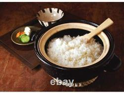 CT-01 Rice Cooker Kamado San Nagatanien Donabe 3 cups for direct fire