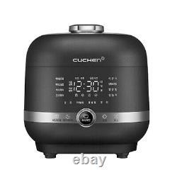 CUCHEN CJR-PM0610RHW Auto Steam Clean 6 Cup IR Pressure Rice Cooker (220V/60Hz)