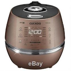 CUCKOO 6 Cup Smart IH Pressure Rice Cooker CRP-DHXB0610FB Kor/Eng/Chi Voice 220V