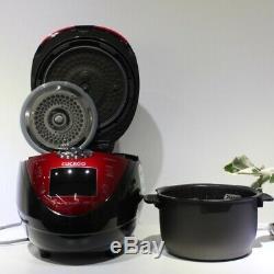 CUCKOO 6 Cups Electric Pressure Rice Cooker CRP-N0680SR Korean Voice 220V