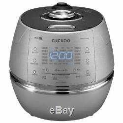 CUCKOO CRP-CHXB1010FS IH Electric Pressure Rice Cooker 10 Cups Stainless 220V