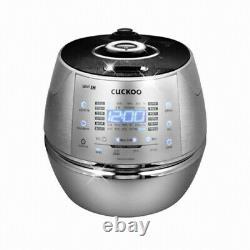 CUCKOO CRP-CHXB1010FS IH Electric Pressure Rice Cooker 220V 10 Cups