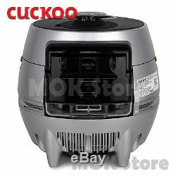 CUCKOO CRP-DHS068FS Rice Cooker 6 Cups IH Pressure Premium Full Stainless / 220V