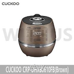 CUCKOO CRP-DHXB0610FB Rice Cooker 6 Cups Brown