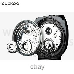 CUCKOO CRP-DHXB0610FS Rice Cooker 6 Cups Silver