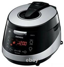CUCKOO CRP-HSB067FS Electric Pressure Rice Cooker 6 Cups
