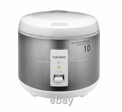 CUCKOO CR-1075S Electric Rice Cooker 10 Cups 10 Servings 220V