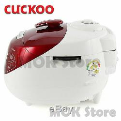 CUCKOO Induction Heating Pressure Rice Cooker CRP-HPF0660SR 6 Cups