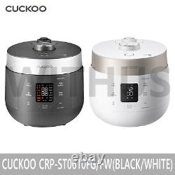CUCKOO Twin Pressure The Light CRP-ST0610FG / ST0610FW Rice Cooker 6 Cups