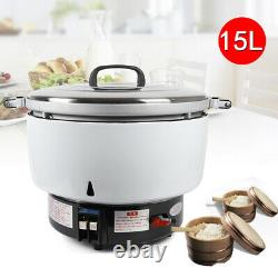 Commercial 75Cups Pressure Rice Cooker 9.5KW Nature Gas Rice cooker Cook Quickly