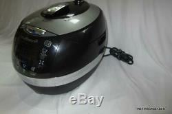 Cuchen 6 Cup Premium Pressure Rice Cooker WHA-LX0601iDUS Pre-owned WORKS great