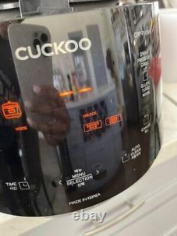 Cuckoo CRPP1009S 10 Cups Electric Pressure Rice Cooker