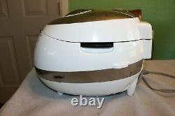 Cuckoo CRP-BHSS0609F Pressure Rice Cooker, 6 Cups, White