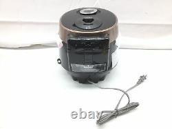 Cuckoo CRP-P0609S 6 cup Electric Heating Pressure Rice Cooker & Warmer 12 bu