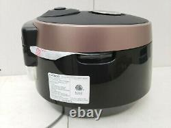 Cuckoo CRP-P1009SB 10 Cup Electric Heating Pressure Cooker & Warmer FREE SHIP