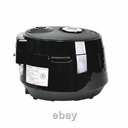 Cuckoo CRP-PK1001S Pressure Rice Cooker, 10 Cups, Black