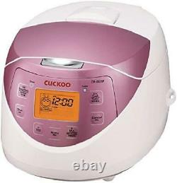 Cuckoo Cr-0631F 6-Cup Multifunctional Micom Rice Cooker Warmer 9 Built-In Pr