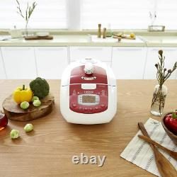 Cuckoo Crp-Fa0610Fr 6 Cup Multifunctional Electric Pressure Rice Cooker 15 B