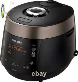 Cuckoo Crp-P0609S 6 Cup Electric Heating Pressure Rice Cooker Warmer 12 Buil