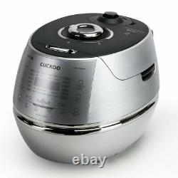 Cuckoo Electric Induction Heating Rice Pressure Cooker 10 Cup Full Stainless