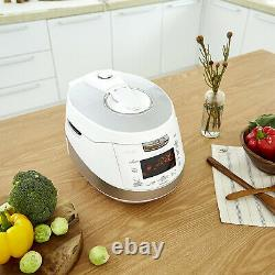 Cuckoo Electronics Stainless Steel 6 Cup Electric Pressure Rice Cooker (Used)