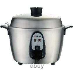DHL -New TATUNG TAC-06I-NM (TAC-06KN) 6 CUP PERSON Stainless Rice Cooker AC 110V