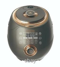 Dimchae Cook Induction Heat Pressure Rice Cooker, 10 Cups