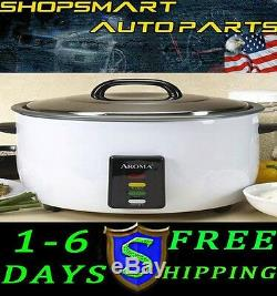 Free Shipping Brand New Aroma 30-cup Commercial Rice Cooker 30 Cup Us Seller
