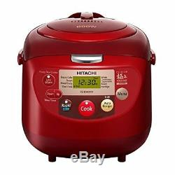 HITACHI Rice Cooker Rz-Dmd18Y-Red 10 Cup AC220-240V EMS with Tracking NEW