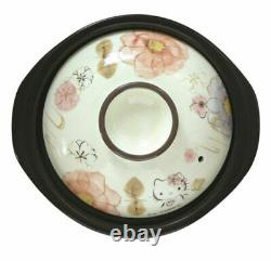 Hello Kitty Banko-yaki 2 Cups Rice Cooker Cherry Blossom Sanrio Japan New