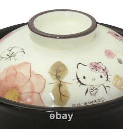 Hello Kitty Banko-yaki 2 Cups Rice Cooker Cherry Blossom Sanrio Japan Tracking#