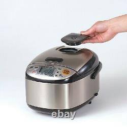 Hot SALE! Zojirushi NS-LGC05XB Micom Rice Cooker & Warmer, 3 Cup (Uncooked)