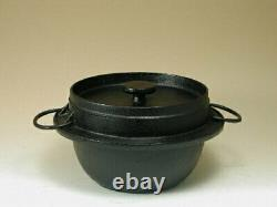 IWACHU Cast Iron Rice Hot Pot 21 085 (3 rice cooker cups) IH compatible Japan