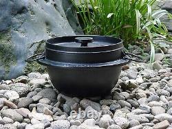 Iwachu Rice cooker 5 cups Black Nambu ironware 21086 Made in Japan F/S