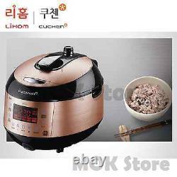 Lihom Cuchen Rice Cooker CJS-FA06010KV Smart Touch IH Pressure 6 CUPS 220V W