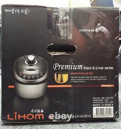 Lihom LJP-HG100CVE 10-Cup Rice Pressure Cooker Brand New in the Box