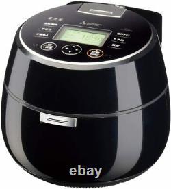 MITSUBISHI ELECTRIC IH Rice Cooker 5.5cups KAMADO NJ-AWB10-B Black from Japan