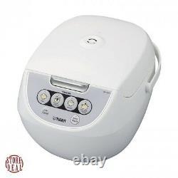 Micom Rice Cooker 5.5 Cup Tiger Corporation JBV-A10U-W Food Steamer Slow Cooker