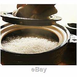 NAGATANIEN Donabe Rice Cooker KAMADO SAN CT-01 02 03 05 1-5 Cups 4 Variations